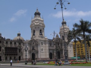 Plaza de Armas w Limie