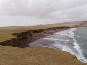 Playa Roja na Półwyspie Paracas