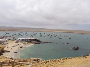 Playa Lagunillas na Półwyspie Paracas