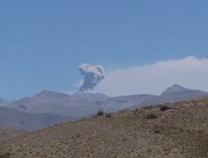 Wulkan Sabancaya - Wycieczka do Kanionu Colca
