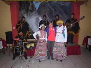 Impreza etniczna w Chivay