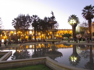 Plaza de Armas w Arequipa