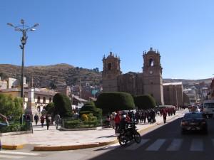 Plaza de Armas w Puno