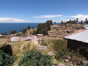 Wyspa Taquile na Jeziorze Titicaca