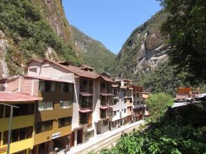 Aguas Calientes u stóp Machu Picchu