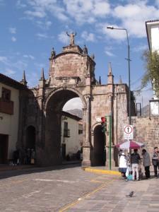 Łuk Świętej Klary w Cusco