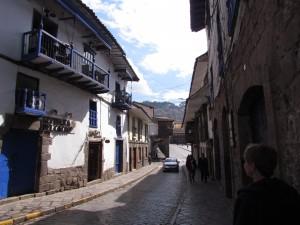 Urokliwe uliczki Cusco