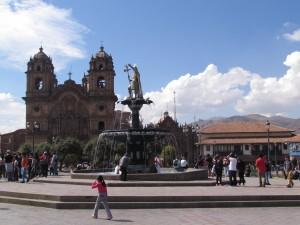 Plaza de Armas w Cusco