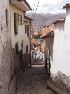 Dzielnica San Blas w Cusco
