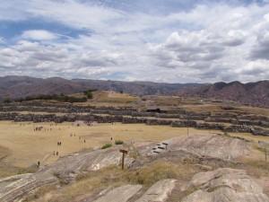 Inkaska twierdza Sacsaywaman w Cusco