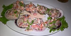 Ceviche w Paracas