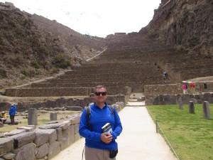 Inkaskie ruiny Ollantaytambo