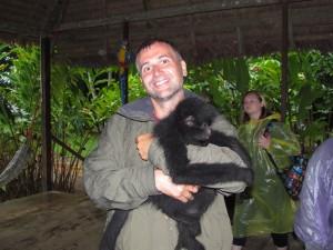 Czepiak - dżungla amazońska