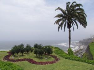 Lima-Miraflores, widok na Ocean Spokojny