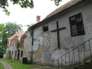 Zamek w miejscowości Grabiny Zameczek