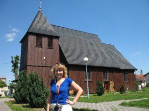 Kościół drewniany w Kosieczynie