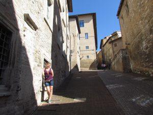 Uliczka w Urbino
