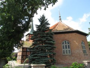 Kościół szachulcowy w Stegnie