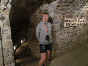 Podziemna trasa w Opatowie