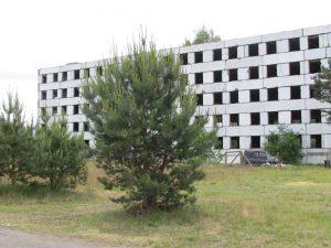Nigdy nie ukończony blok typu Leningrad w Bornem Sulinowie