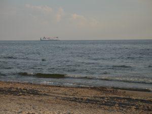 Plaża w Šlaito pod Kłajpedą na Litwie