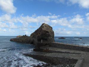 Roque de las Bodegas w miejscowości Almaciga na Teneryfie