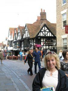 Szachulcowe domy w Canterbury