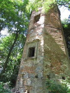 Wieża z zamku w Wyszynie
