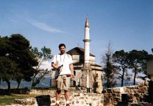 Meczet na terenie kastro w Joanninie w Grecji