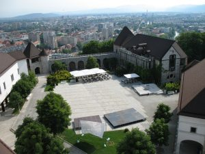 Zamek w Ljubljanie