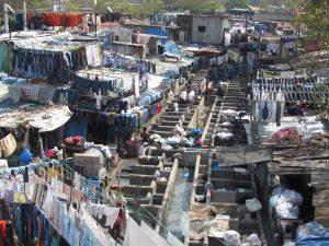 Pralnia w Bombaju - Dhobi Ghat