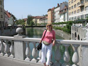 Nad Ljubljanicą