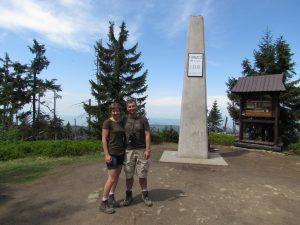 Na Turbaczu - najwyższym szczycie Gorców