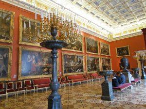 Pełac Zimowy - Ermitaż w Petersburgu