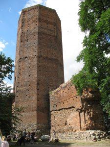 Mysia Wieża zamku w Kruszwicy
