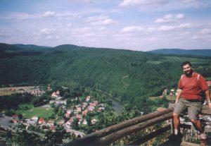 Widok na Bardo z punktu widokowego