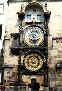 Zegar na Ratuszu w Pradze
