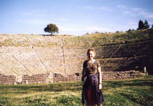 Teatr w Dodonie w Grecji