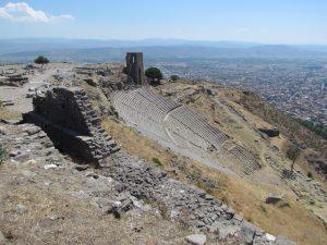 Teatr na Akropolu w Pergamonie