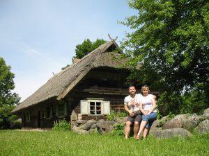 Skansen w Rumszyszkach na Litwie
