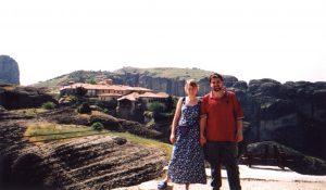 Meteory - Monastyr Agias Triados w Grecji