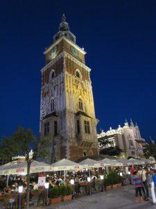 Wież ratuszowa w Krakowie