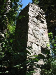 Pozostałości zamku w Moryniu