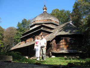 Cerkiew w miejscowości Ulucz