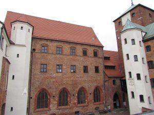 Zamek książęcy w Darłowie