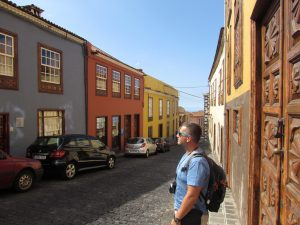 Calle Tomas Zerolo w La Orotava na Teneryfie