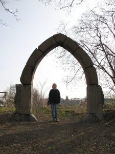 Portal Zamku w Lubawie