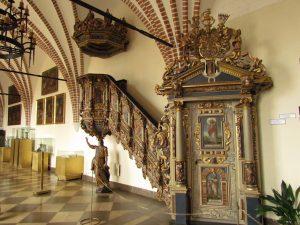 Kaplica na zamku w Darłowie
