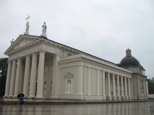 Katedra w Wilnie na Litwie