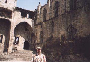 Dzielnica Barri Gotic w Barcelonie